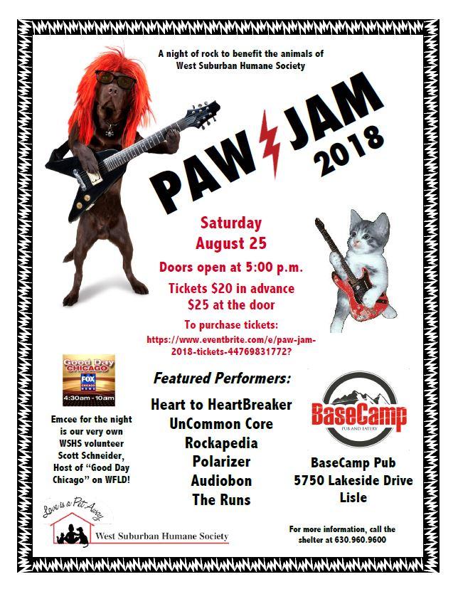 Paw Jam 2018