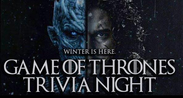 Game Of Thrones Trivia Ice And Fire Tradition Base Camp Pub