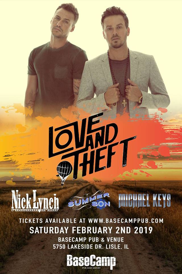 Love and Theft, Nick Lynch, Summer Son- Live Country Music