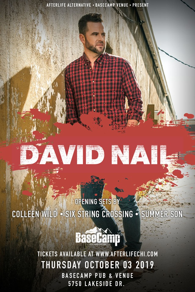 David Nail & Friends Live at Basecamp Venue