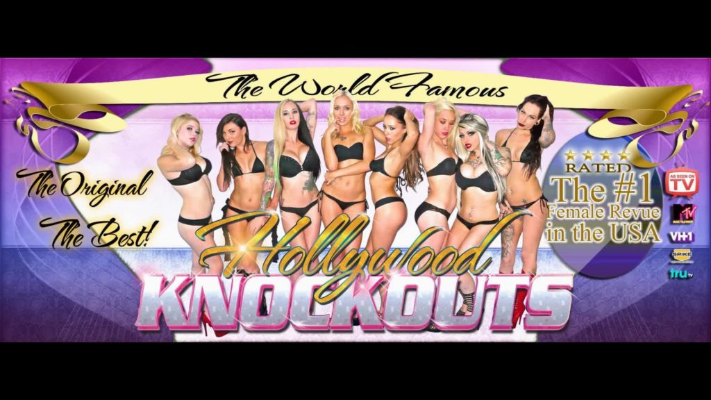 The Hollywood Knock Outs Hot Oil Wrestling Show Live at Basecamp