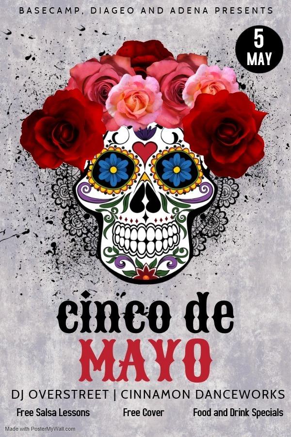 Cinco de Mayo Party! Free Salsa Lessons