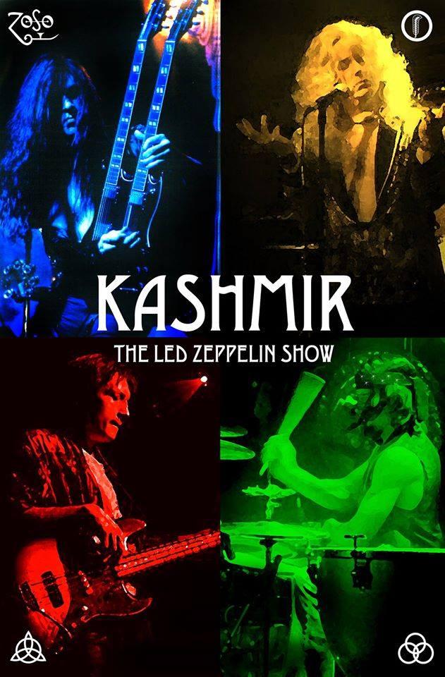 Kashmir- Chicago's Led Zeppelin Show Live at Basecamp