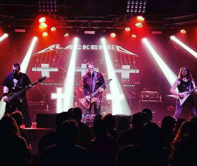 Blackened - Tribute to Metallica Live at Basecamp