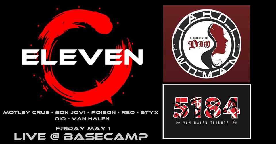 ELEVEN, Tarot Woman and 5184 all Live at Basecamp