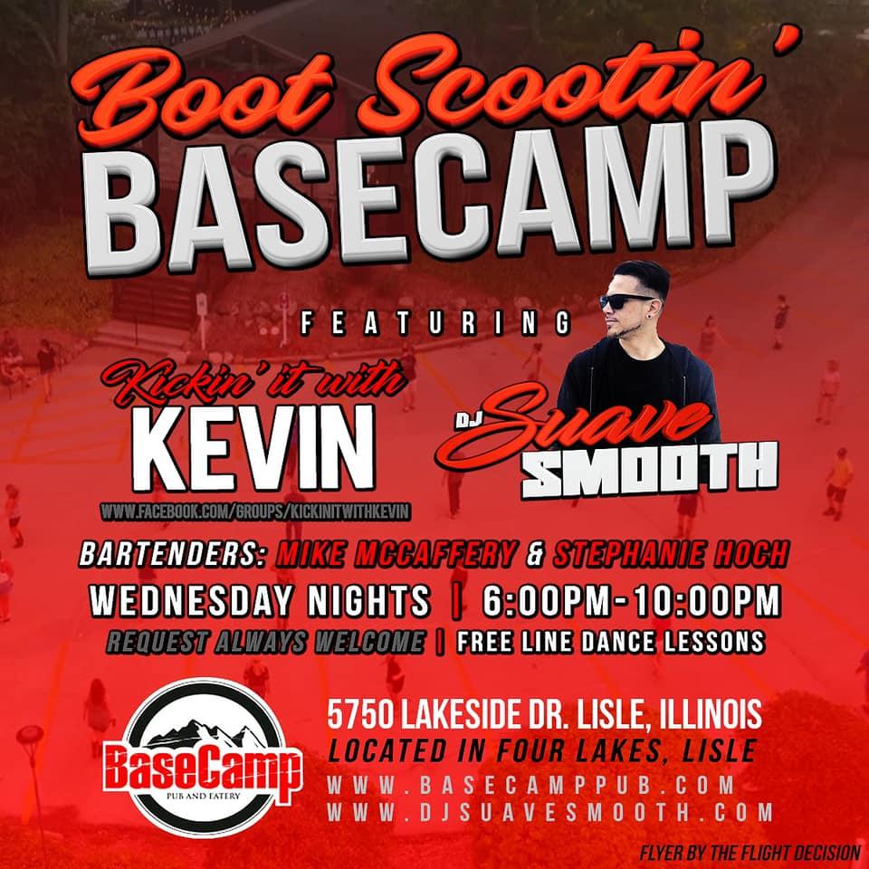 Boot Scootin' Basecamp - Wednesdays Free Line Dancing
