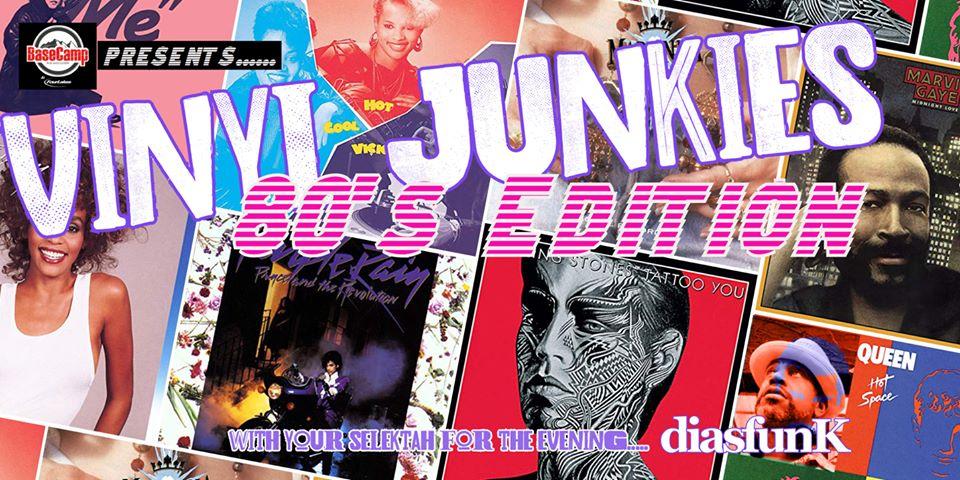VINYL Junkies: 80's Edition Free Patio Show