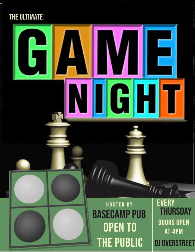 Game Night out With DJ Overstreet