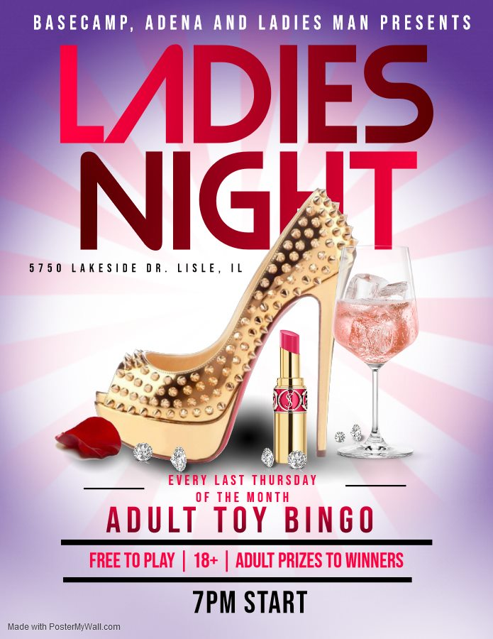Ladies Night Just Got BIGGER!! - Adult Toy Bingo
