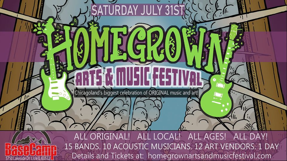 The 9th annual Homegrown Arts and Music Festival 2021